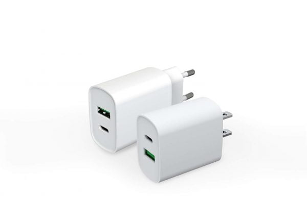 Fast Charging 20W PD wall charger for iPhone 12